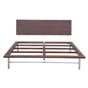 Sandra Walnut Bed Frame Frames Free Shipping