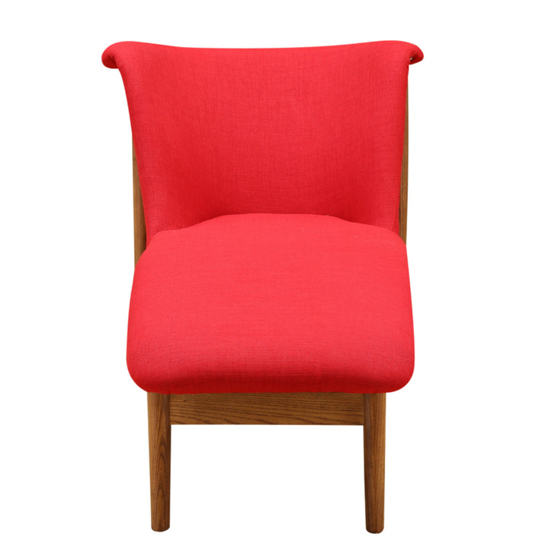 Ashley Red Lounge Chair - living-essentials