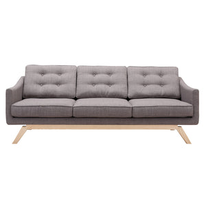 Barrister Gray Sofa Free Shipping