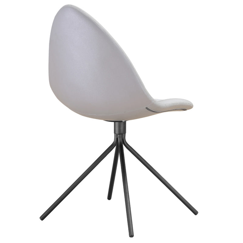 Tripod White Dining Chair - living-essentials