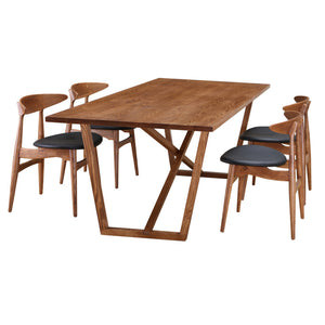 Harris Walnut Dining Table Free Shipping