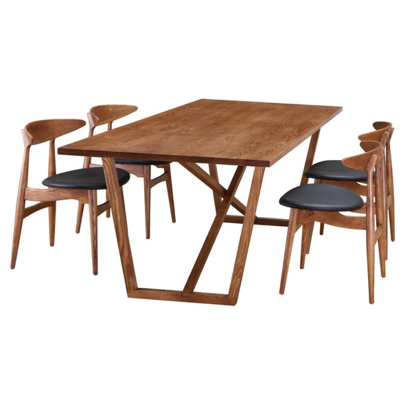 Harris Walnut Dining Table - living-essentials