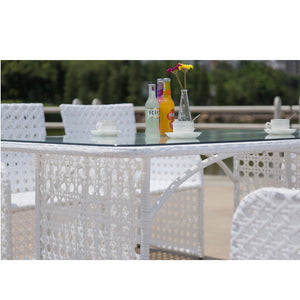 Blanc Outdoor Dining Set Free Shipping