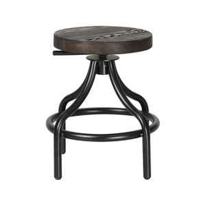 Atlantis Rustic Walnut Stool Stools Free Shipping