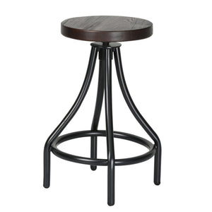 Atlanta Walnut Counter Stool - living-essentials