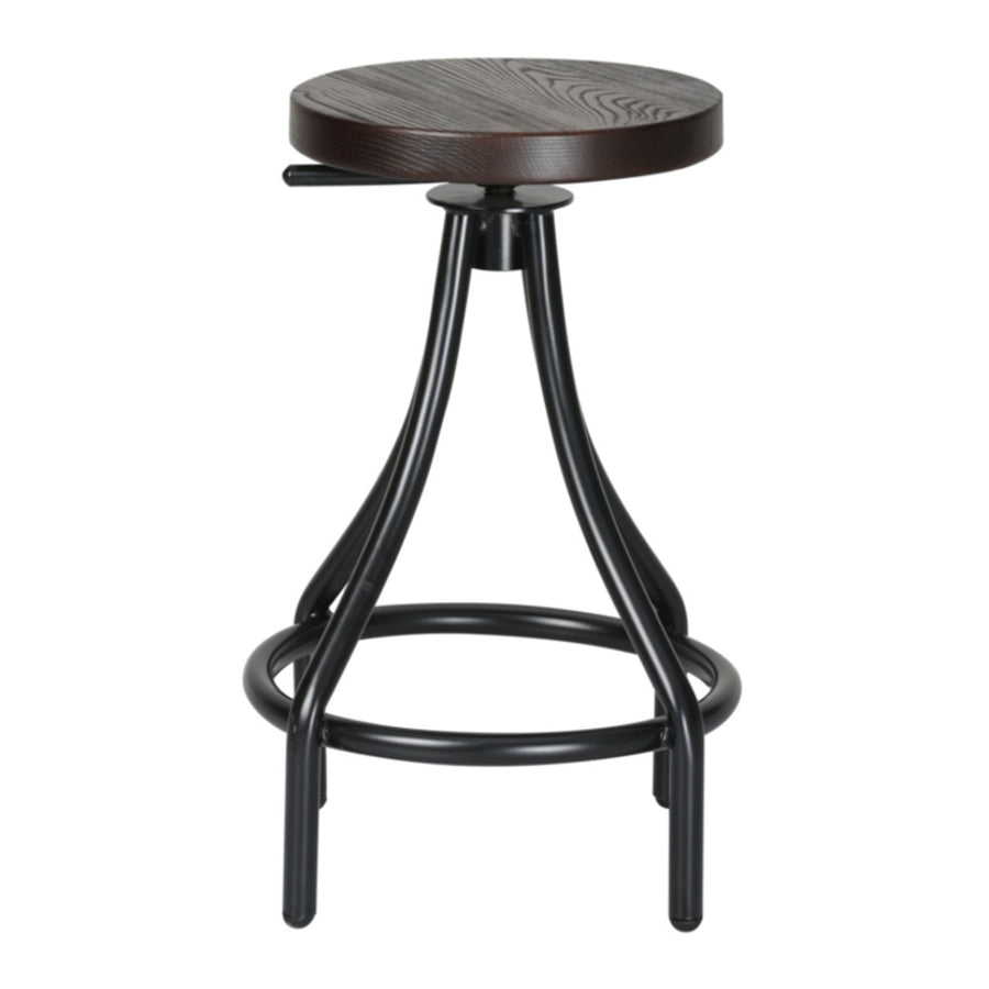Atlanta Walnut Counter Stool