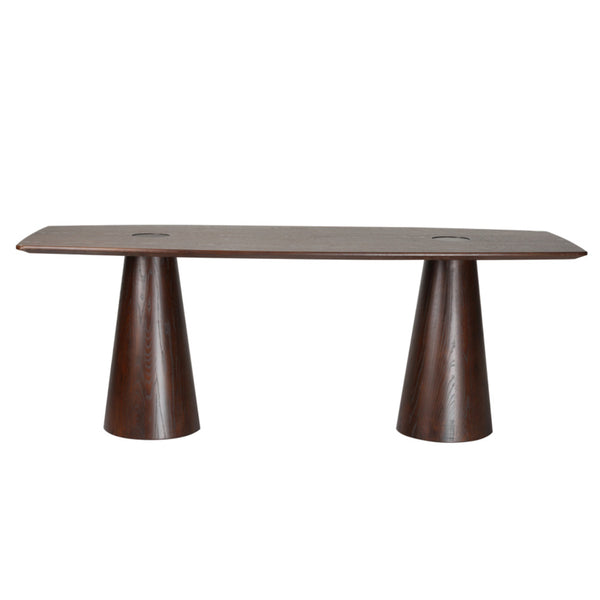 Cone Mid Walnut Dining Table - living-essentials