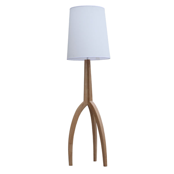 Tripod Natural Floor Lamp - living-essentials