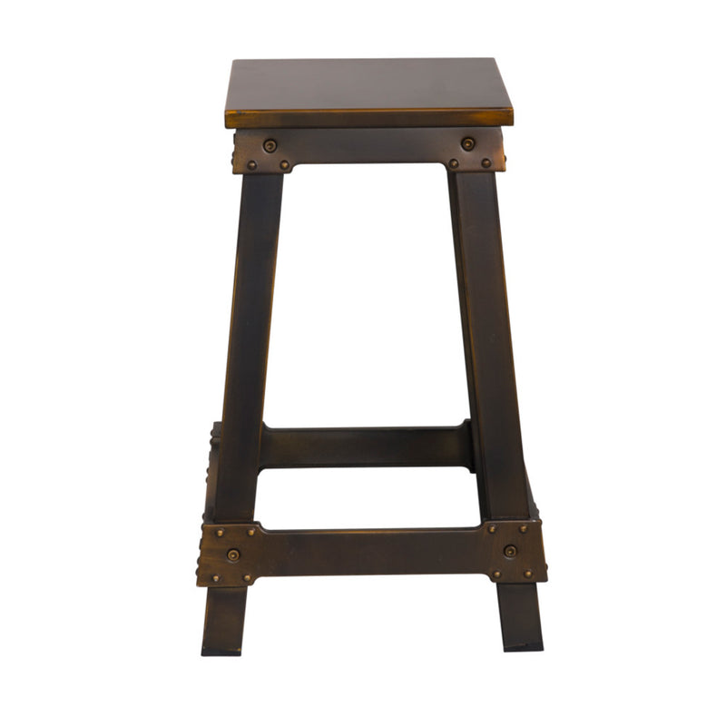 Foyer Copper Counter Stool - living-essentials