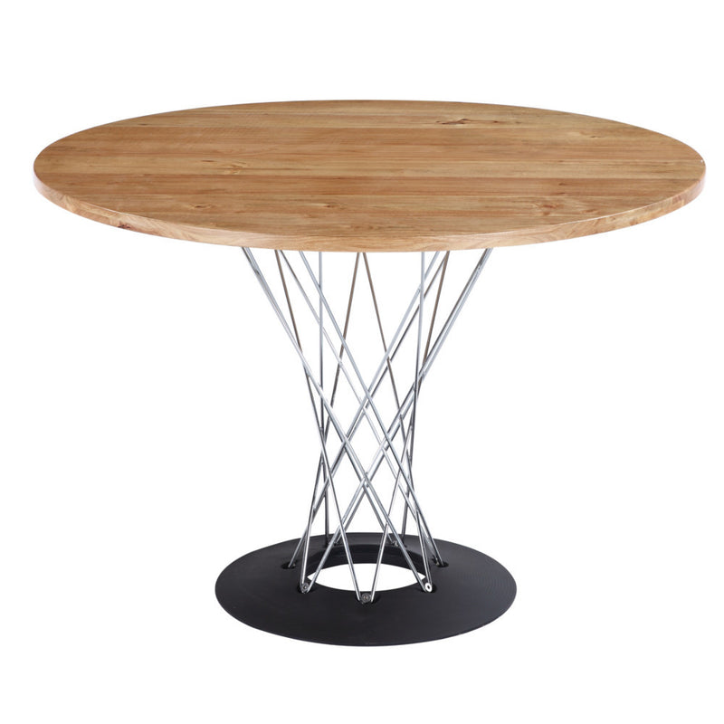 Noguchi Style Natural Cyclone Dining Table - living-essentials
