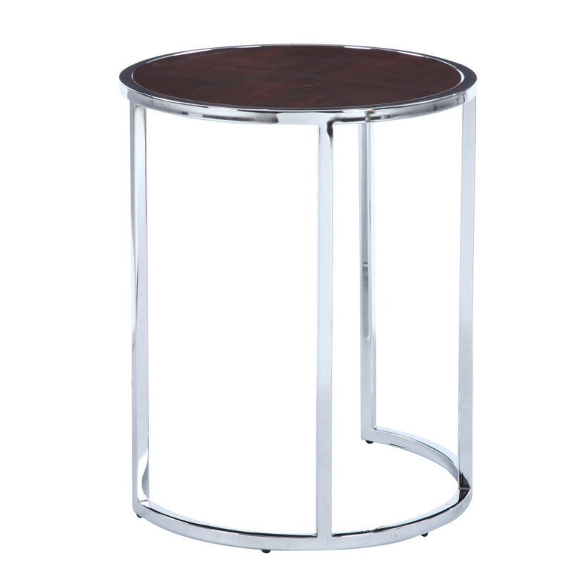 Spain Walnut Side Table - living-essentials