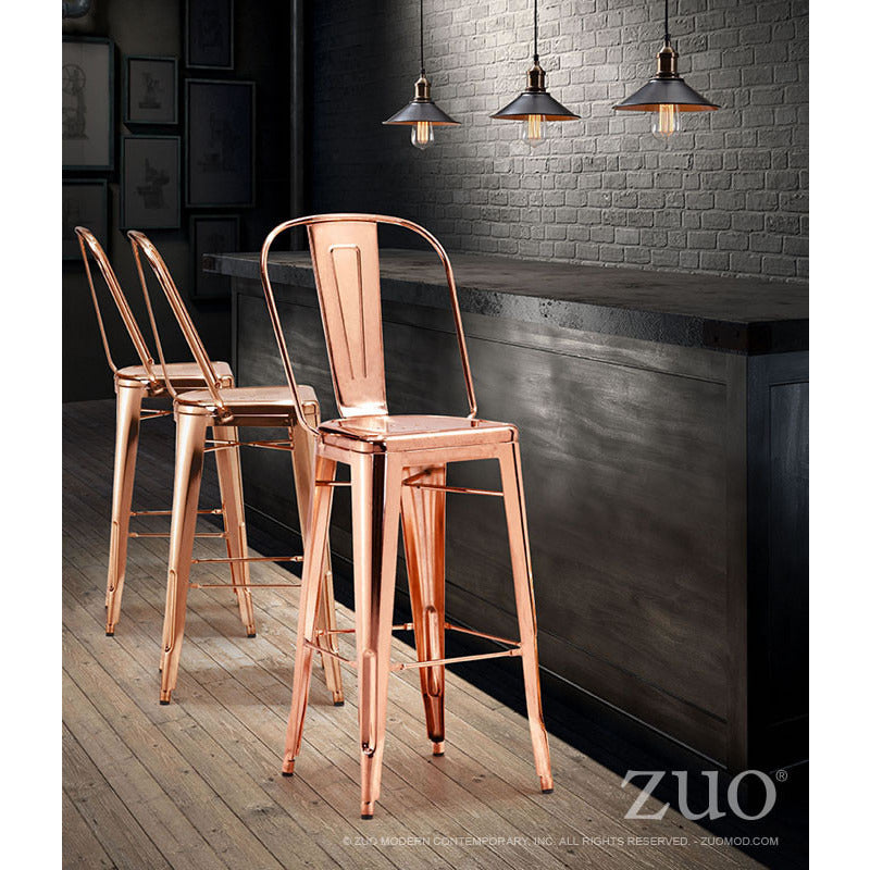 Tolix Style Bar Chair - living-essentials