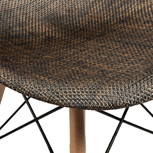 Emfurn DAW Style Natural Fabric Dining Chair - living-essentials