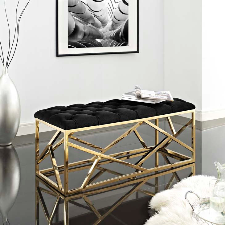 Innocence Gold Bench - living-essentials