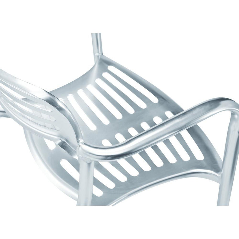 Rexdale Aluminum Dining Chair - living-essentials