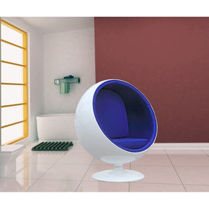 Eero Aarnio Style Kids Ball Lounge Chair - living-essentials