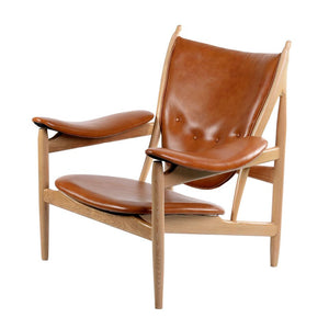 Finn Juhl Style Chieftain Chair Burnt Orange Chairs Free Shipping