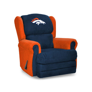 Denver Broncos Big & Tall Coach Recliner