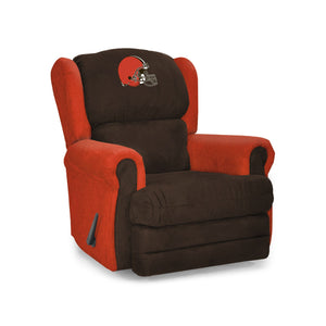 Cleveland Browns Big & Tall Coach Recliner