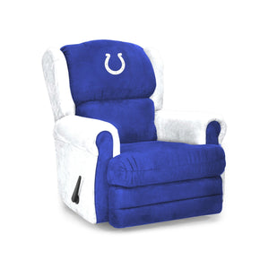 Indianapolis Colts Big & Tall Coach Recliner - living-essentials