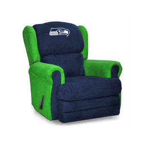 Seattle Seahawks Big & Tall Coach Recliner