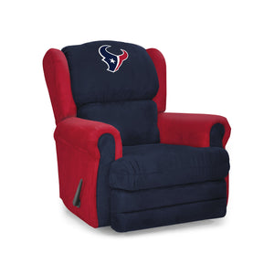 Houston Texans Big & Tall Coach Recliner - living-essentials