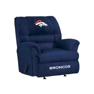 Denver Broncos Big & Tall Microfiber Recliner