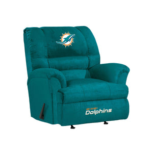 Miami Dolphins Big & Tall Microfiber Recliner - living-essentials