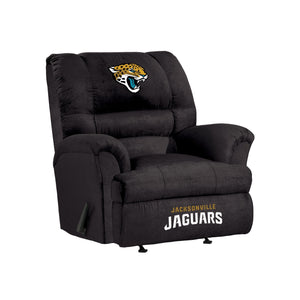 Jacksonville Jaguars Big & Tall Microfiber Recliner - living-essentials