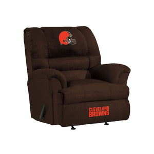 Cleveland Browns Big & Tall Microfiber Recliner