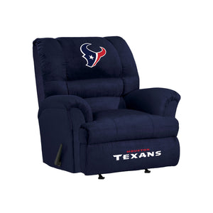 Houston Texans Big & Tall Microfiber Recliner - living-essentials