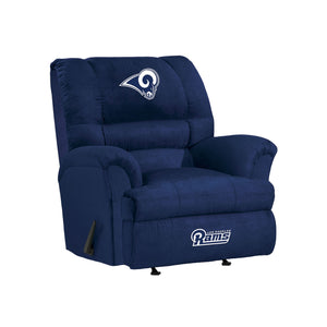 Los Angeles Rams Big & Tall Microfiber Recliner - living-essentials