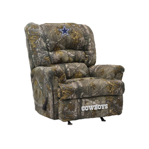 Dallas Cowboys Big & Tall Camo Recliner