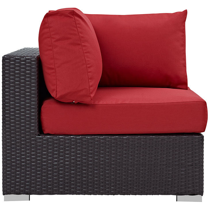 Berkeley Outdoor Patio Corner Chair - living-essentials