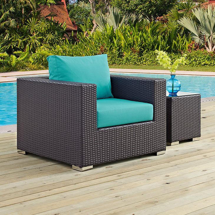 Berkeley Outdoor Patio Armchair - living-essentials