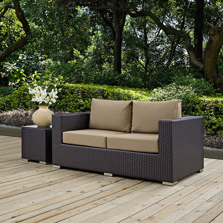 Berkeley Outdoor Patio Loveseat - living-essentials