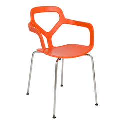 Carmelo Orange Armchair - living-essentials