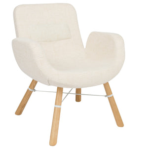 Milton Beige Accent Chair
