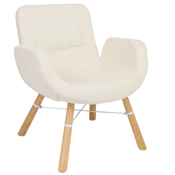 Milton Beige Accent Chair - living-essentials