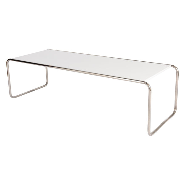 Malcolm White Coffee Table - living-essentials