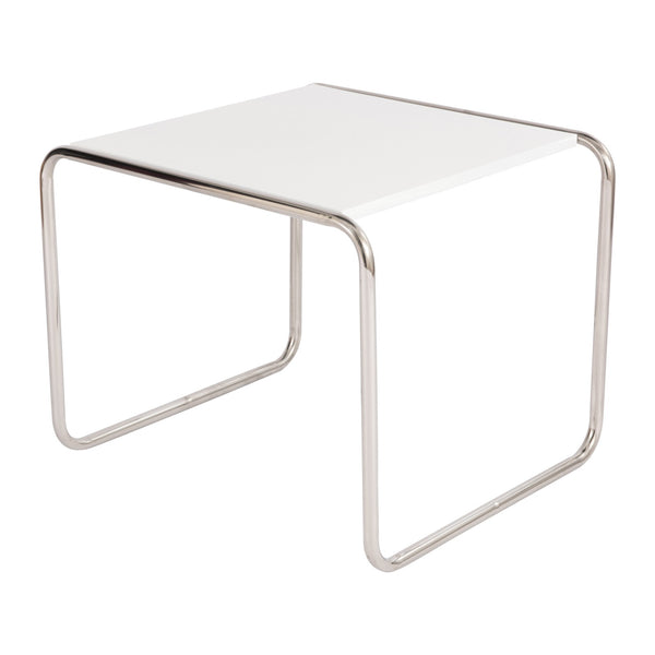 Malcolm White Side Table - living-essentials