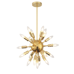 Asteroid Gold Mini Chandelier Ceiling Lamps Free Shipping