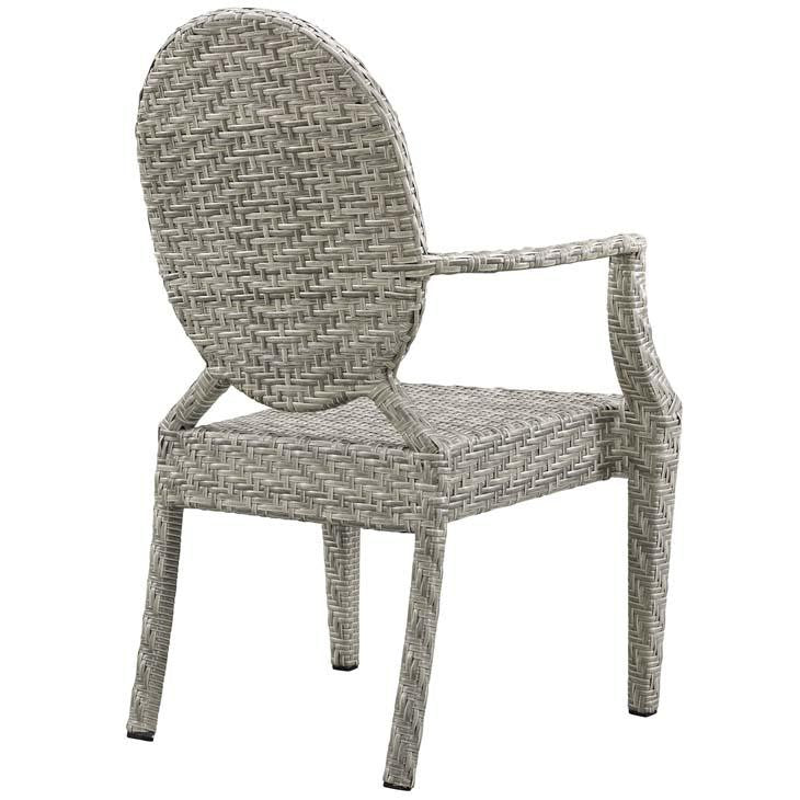 Carnie Dining Outdoor Patio Armchair - living-essentials