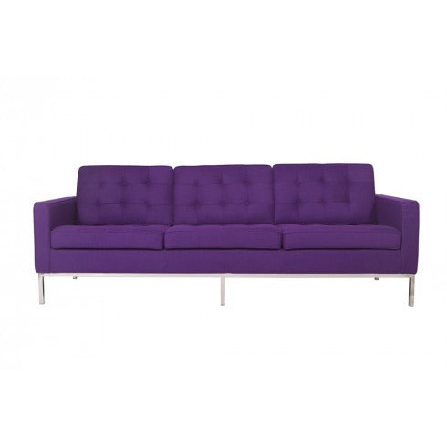 ... Florence Knoll Style Wool Sofa Purple Sofas Free Shipping ...