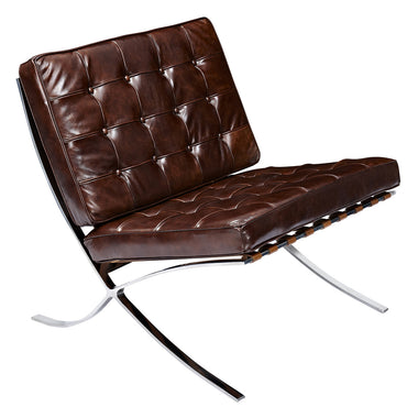 Modern Furniture Chairs. Barcelona Style Chair  Vintage Aged Leather Cognac Chairs Free Shipping Mid Century Modern EMFURN