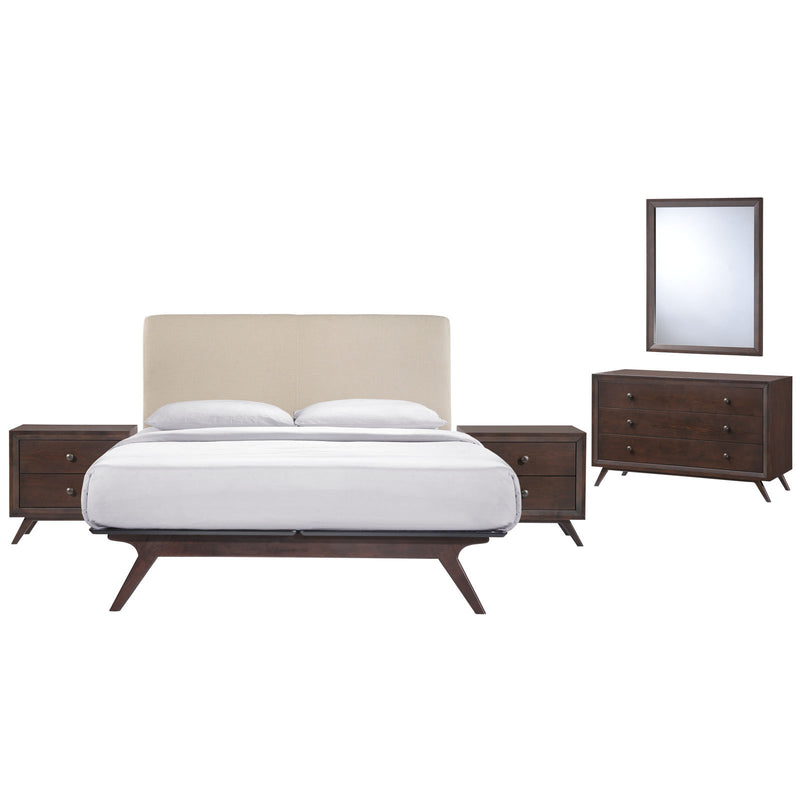 Truman 5 Piece Queen Bedroom Set - living-essentials