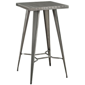 Tolix Style Bar Table Gunmetal Tables Free Shipping