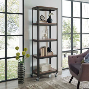 Vision Industrial Bookcase Shelves Free Shipping
