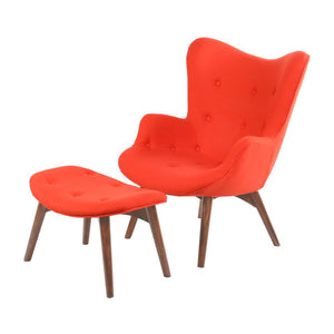 Lava Red Aiden Chair Chair Free Shipping