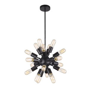 Astrid Black Mini Chandelier Lamps Free Shipping